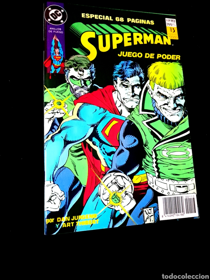 DE KIOSCO SUPERMAN 113 COMICS ZINCO DC (Tebeos y Comics - Zinco - Superman)