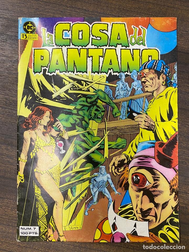 LA COSA DEL PANTANO. Nº 7. DC. EDICIONES ZINCO. (Tebeos y Comics - Zinco - Cosa del Pantano)