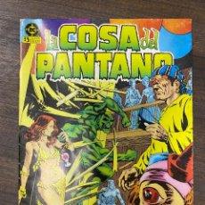 Cómics: LA COSA DEL PANTANO. Nº 7. DC. EDICIONES ZINCO.. Lote 239554450