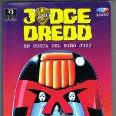Cómics: JUDGE DREED EN BUSCA DEL NIÑO JUEZ POR JOHN WAGNER, ALAN GRANT, BRIAN BOLLAND Y OTROS DIBUJANTES. Lote 239569490