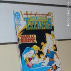 Comics: LOS NUEVOS TITANES VOL. 2 Nº 38 ESPECIAL 68 PAGINAS - ZINCO. Lote 239654360