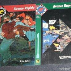 Cómics: AVANCE RAPIDO SERIE DE 2 TOMOS GRANT MORRISON & DAVE MCKEAN EDICIONES ZINCO. Lote 239700955