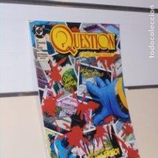 Comics : QUESTION Nº 10 LA BUSQUEDA DE RODOR O'NEIL DC - ZINCO. Lote 239855525