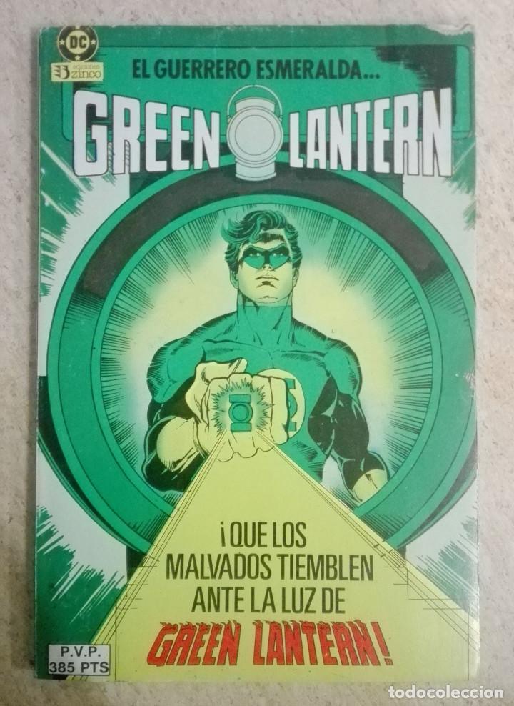 GREEN LANTERN RETAPADO VARIANTE 7 (Tebeos y Comics - Zinco - Retapados)
