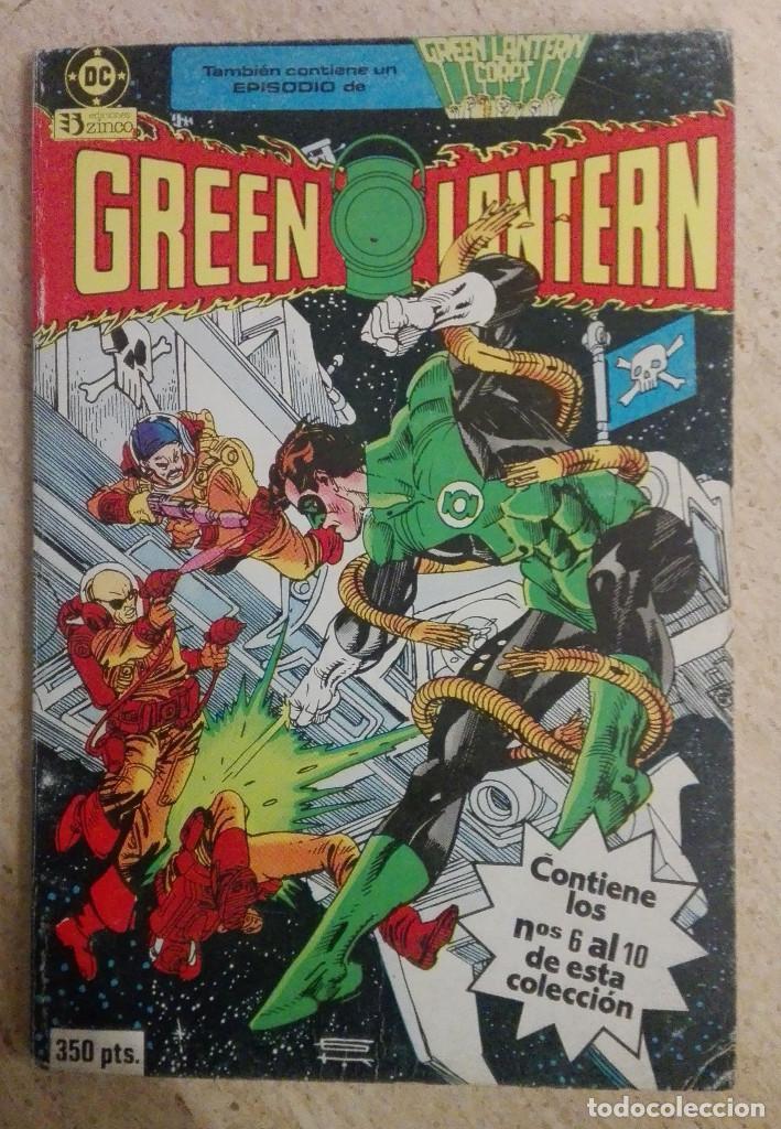 GREEN LANTERN RETAPADO Nº 2 (Tebeos y Comics - Zinco - Retapados)