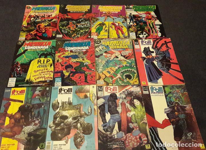 LOTE DE 12 COMICS LA PATRULLA CONDENADA THE DOOM PATROL EDICIONES ZINCO PLANETA AGOSTINI (Tebeos y Comics - Zinco - Patrulla Condenada)