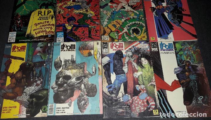 Cómics: LOTE DE 12 COMICS LA PATRULLA CONDENADA THE DOOM PATROL EDICIONES ZINCO PLANETA AGOSTINI - Foto 4 - 239900475