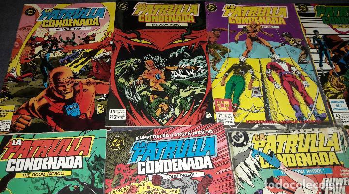 Cómics: LOTE DE 12 COMICS LA PATRULLA CONDENADA THE DOOM PATROL EDICIONES ZINCO PLANETA AGOSTINI - Foto 5 - 239900475