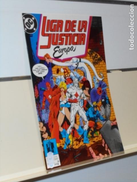 LIGA DE LA JUSTICIA EUROPA Nº 3 - ZINCO (Tebeos y Comics - Zinco - Liga de la Justicia)