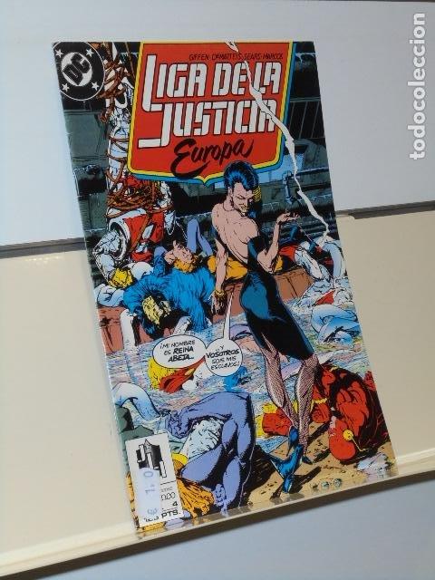 LIGA DE LA JUSTICIA EUROPA Nº 4 - ZINCO (Tebeos y Comics - Zinco - Liga de la Justicia)