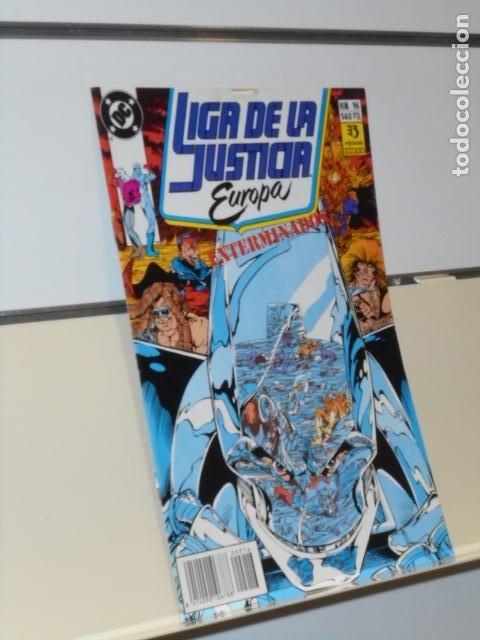 LIGA DE LA JUSTICIA EUROPA Nº 16 - ZINCO (Tebeos y Comics - Zinco - Liga de la Justicia)