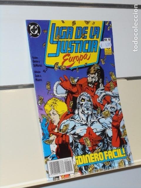 LIGA DE LA JUSTICIA EUROPA Nº 10 - ZINCO (Tebeos y Comics - Zinco - Liga de la Justicia)