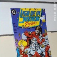 Cómics: LIGA DE LA JUSTICIA EUROPA Nº 10 - ZINCO. Lote 240495915