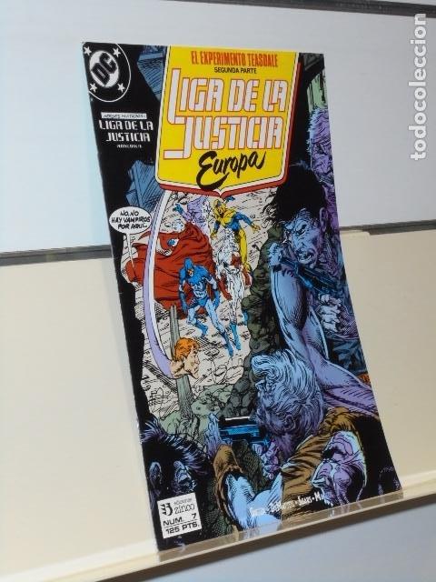 LIGA DE LA JUSTICIA EUROPA Nº 7 - ZINCO (Tebeos y Comics - Zinco - Liga de la Justicia)