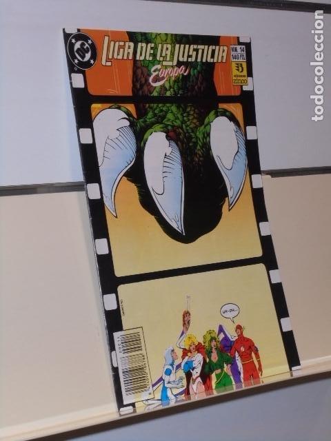 LIGA DE LA JUSTICIA EUROPA Nº 14 - ZINCO (Tebeos y Comics - Zinco - Liga de la Justicia)