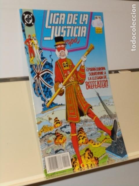 LIGA DE LA JUSTICIA EUROPA Nº 20 - ZINCO (Tebeos y Comics - Zinco - Liga de la Justicia)