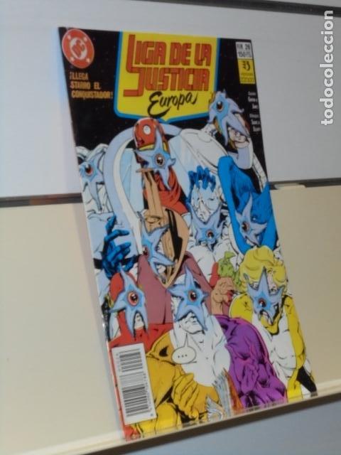 LIGA DE LA JUSTICIA EUROPA Nº 26 - ZINCO (Tebeos y Comics - Zinco - Liga de la Justicia)