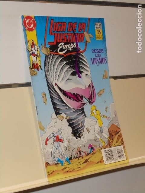 LIGA DE LA JUSTICIA EUROPA Nº 24 - ZINCO (Tebeos y Comics - Zinco - Liga de la Justicia)