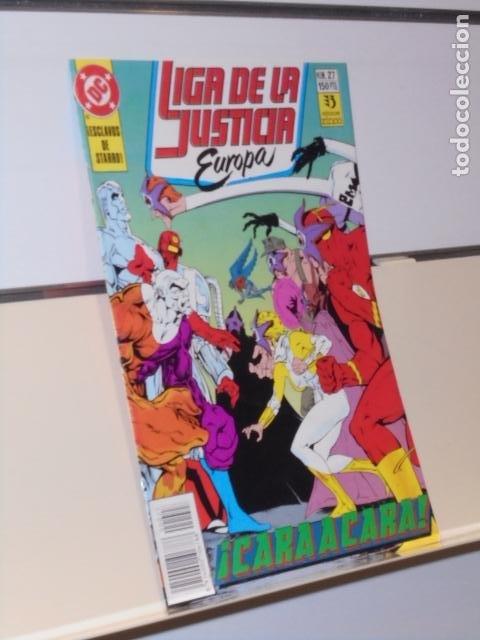 LIGA DE LA JUSTICIA EUROPA Nº 27 - ZINCO (Tebeos y Comics - Zinco - Liga de la Justicia)