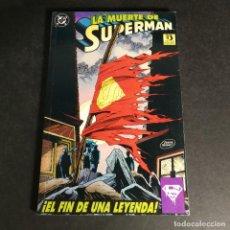 Cómics: LA MUERTE DE SUPERMAN EDICIONES ZINCO EL FIN DE UNA LEYENDA TOMO ÚNICO COMO NUEVO. Lote 240582035
