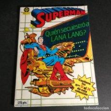 Cómics: DC COMICS RETAPADO EDICIONES ZINCO 7 SUPERMAN CONTIENE LOS N'S 31 AL 34 COMO NUEVO. Lote 240584900
