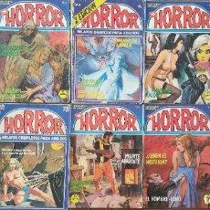 Cómics: HORROR 8,14,63,65,86,88,91,93,99,101,. Lote 240691670