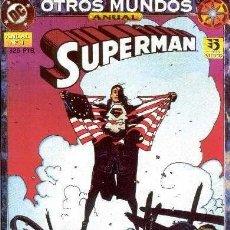 Cómics: SUPERMAN. OTROS MUNDOS. ANUAL. Nº 1 ZINCO BYRNE MUCHOS EN VENTA MIRA FALTAS ARX64. Lote 241135350
