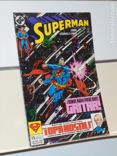 SUPERMAN Nº 64 DC - ZINCO (Tebeos y Comics - Zinco - Superman)