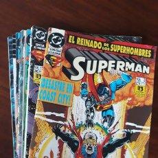 Cómics: LOTE 9 COMICS SUPERMAN VOL.3 ZINCO + 1 SUPERMAN VID. Lote 241331115