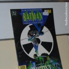 Comics : LEYENDAS DE BATMAN Nº 36 DESTINY (DESTINO) 2ª PARTE - ZINCO. Lote 241444745