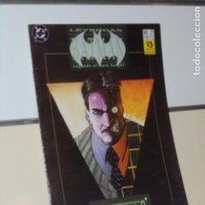 Comics : LEYENDAS DE BATMAN Nº 27 ROSTROS 1 - ZINCO. Lote 241445550