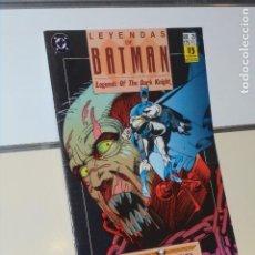 Comics: LEYENDAS DE BATMAN Nº 25 VOLADOR CAPITULO 2 - ZINCO. Lote 241446005