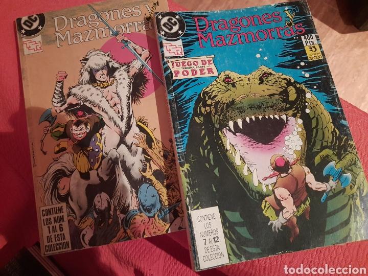 DEFECTUOSO VER FOTOS CÓMIC DRAGONES Y MAZMORRAS (ZINCO - 2 TOMOS, COMPLETA 12 NÚMEROS) (Tebeos y Comics - Zinco - Retapados)