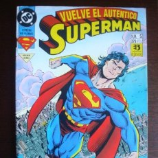 Cómics: SUPERMAN VOL.3 / 4 Nº 5 (POR KESEK, GRUMMETT Y HAZLEWOOD) 1993-1994 (ZINCO) DC. Lote 241657685