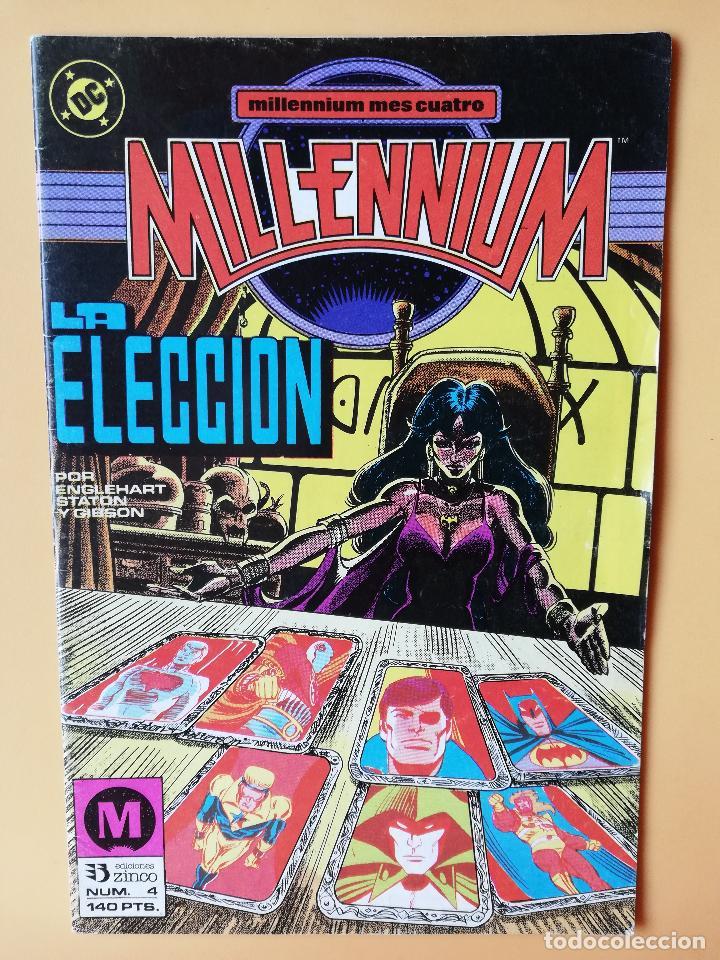 MILLENNIUM. MILLENIUM MES CUATRO. NÚM. 4. LA ELECCIÓN - STEVE ENGLEHART. JOE STATON. IAN GIBSON (Tebeos y Comics - Zinco - Millenium)