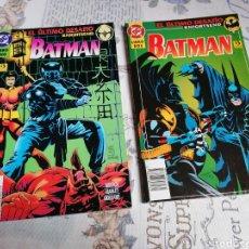Cómics: BATMAN EL ÚLTIMO DESAFÍO COMPLETA 2 TOMOS EDICIONES ZINCO 1995. Lote 241730315