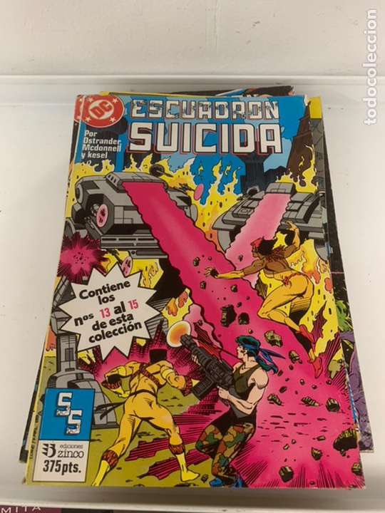 ESCUADRÓN SUICIDA RETAPADO ZINCO (Tebeos y Comics - Zinco - Retapados)