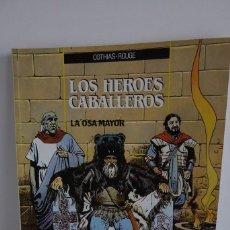 Cómics: LOS HÉROES CABALLEROS Nº 2 - LA OSA MAYOR - EDICIONES ZINCO 1990. Lote 241919425