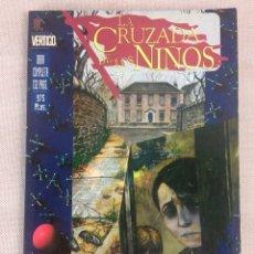 Cómics: X LA CRUZADA DE LOS NIÑOS, DE GAIMAN Y BACHALO (VERTIGO. ZINCO). Lote 242103520