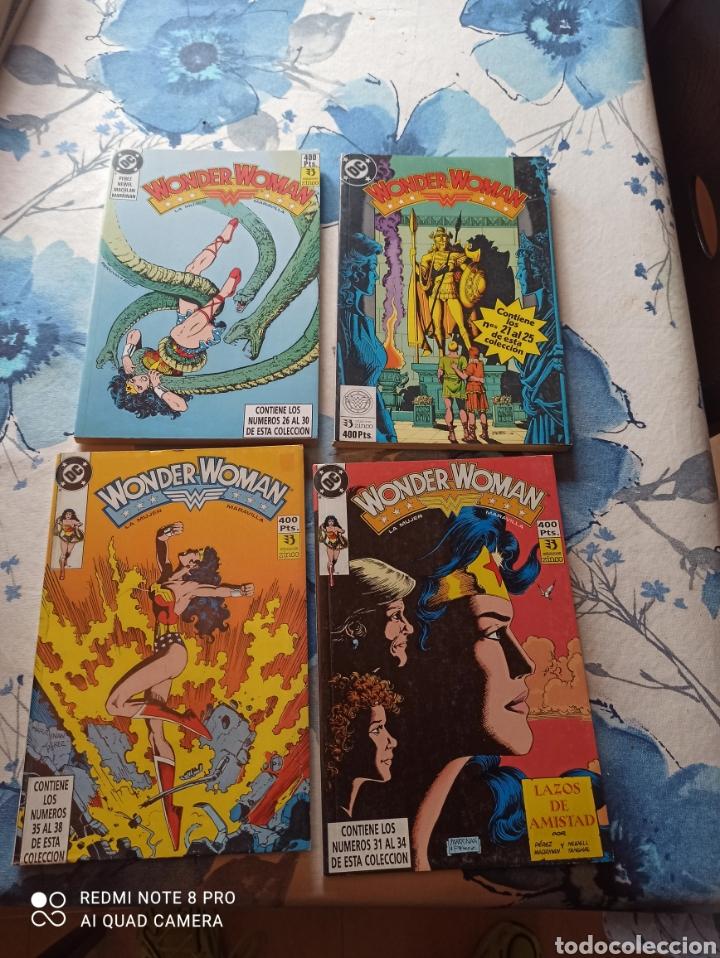 Cómics: Wonder Woman ediciones Zinco 1 al 38 8 tomos completa - Foto 2 - 242109435