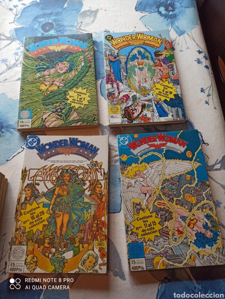 WONDER WOMAN EDICIONES ZINCO 1 AL 38 8 TOMOS COMPLETA (Tebeos y Comics - Zinco - Retapados)