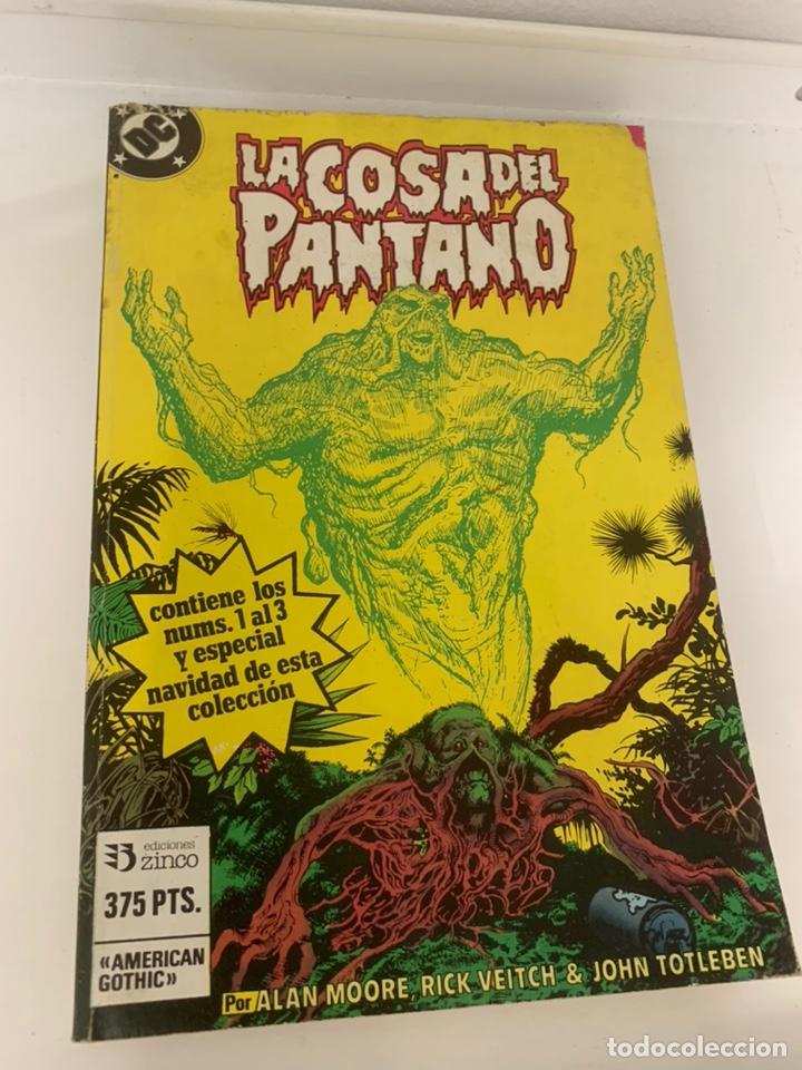 LA COSA DEL PANTANO (Tebeos y Comics - Zinco - Cosa del Pantano)