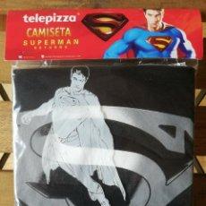 Cómics: SUPERMAN RETURNS CAMISETA TELEPIZZA 2006 TELE PIZZA BRYAN SINGER PROMOCIONAL TALLA M. Lote 242246130