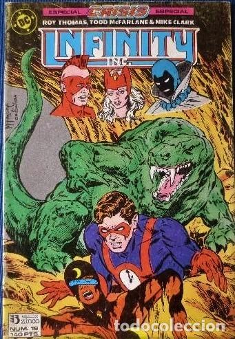 Cómics: 3 Comic Crisis Infinity INC 19-20-21 Grupo Zinco DC 1986 nuevo - Foto 3 - 42379328