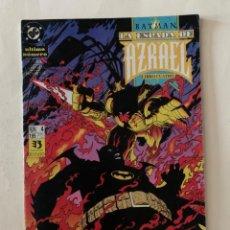 Cómics: DC - BATMAN - LA ESPADA DE AZRAEL LIBRO CUARTO - NUM 4 - EDICIONES ZIN. Lote 242493090