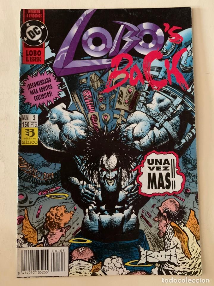 DC - LOBO EL REGRESO - NUM 3 - EDICIONES ZINCO (Tebeos y Comics - Zinco - Lobo)