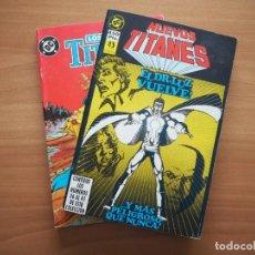 Cómics: RETAPADO NUEVOS TITANES Nº 7 Y 8. Lote 242859095