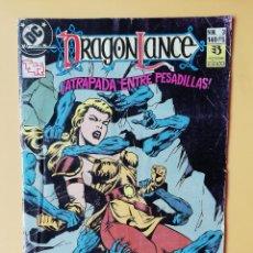 Cómics: DRAGONLANCE, NÚM. 3. ¡ATRAPADA ENTRE PESADILLAS! - DAN MISHKIN. Lote 242973850
