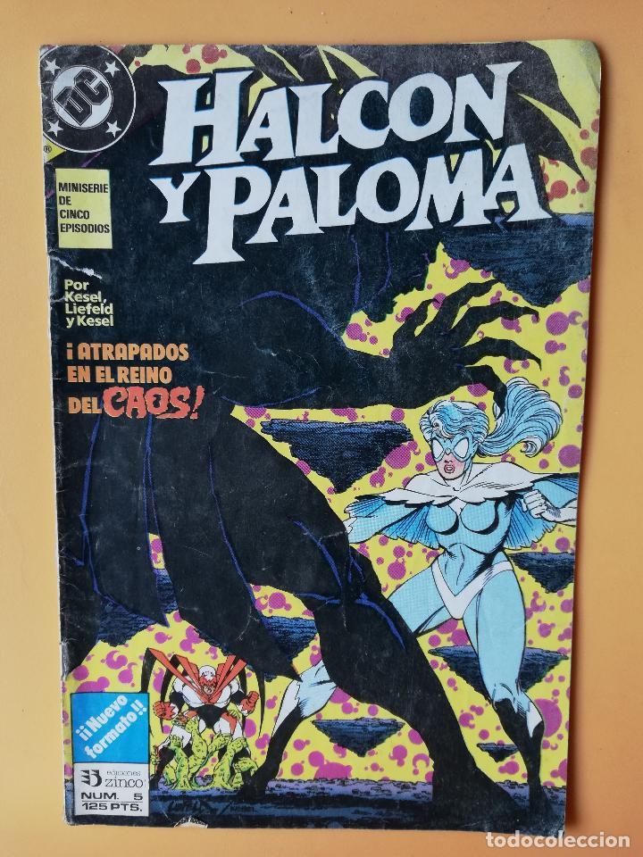 HALCÓN Y PALOMA. NÚM. 5. MINISERIE DE CINCO EPISODIOS - BARBARA Y KARL KESEL (Tebeos y Comics - Zinco - Millenium)