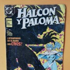 Cómics: HALCÓN Y PALOMA. NÚM. 5. MINISERIE DE CINCO EPISODIOS - BARBARA Y KARL KESEL. Lote 242973945